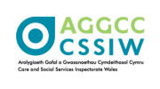 care and social services inspectorate wales logo