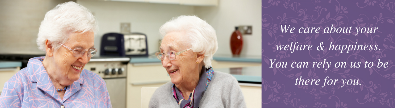 Home Care Services - We care about your welfare & happiness. You can rely on us to be there for you.